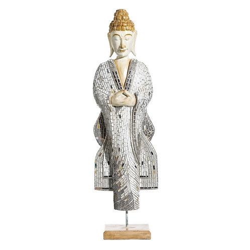 Figura de Buda madera