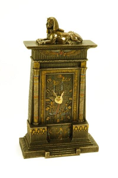 Figura Reloj Esfinge