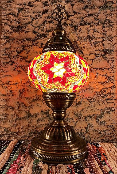 Lámpara turca de sobremesa 31 cm.