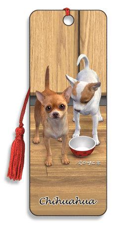 Punto de Libro 3D Chihuahua