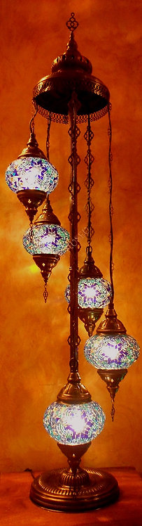 Lámpara turca de pie 142 cm.