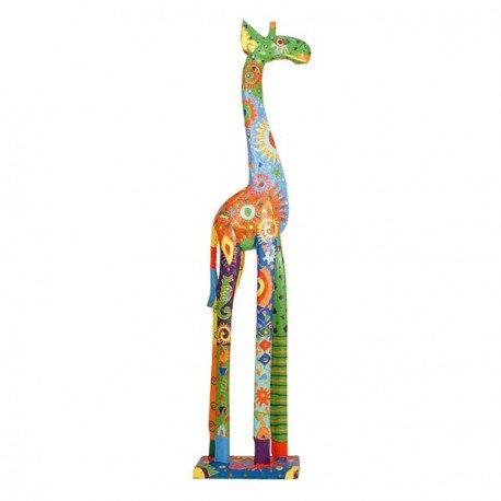 Jirafa multicolor 120 cm.