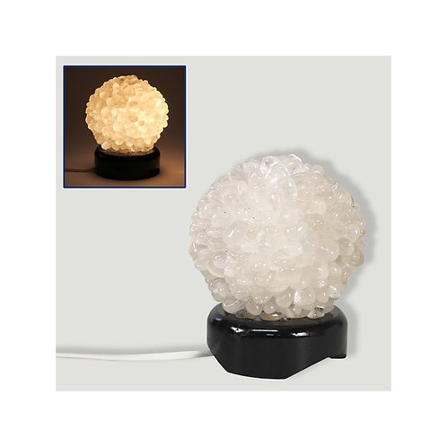 Lámpara Cristal Roca