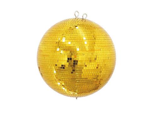 Bola Espejos Oro 40 cm