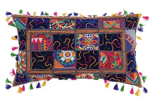 Cojín patchwork india