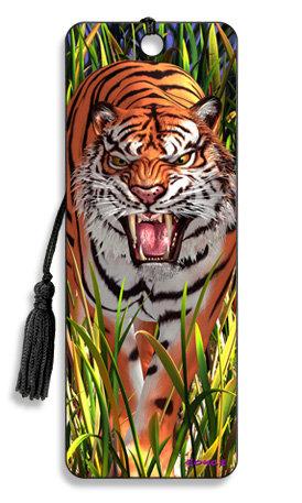 Punto de Libro 3D Tigre