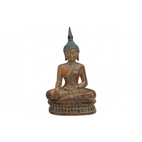 Buda sentado marrón