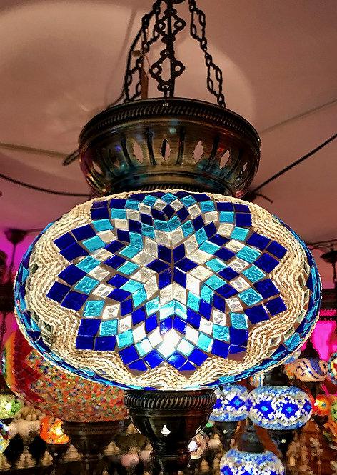 Lámpara turca de colgar 25 cm.