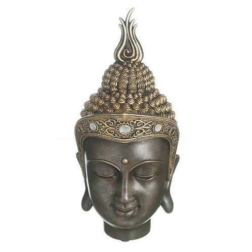 Figura de cabeza Buda