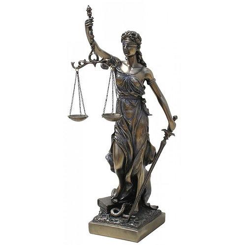 Figura La Justicia 33 cm