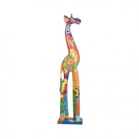 Jirafa multicolor 80 cm.