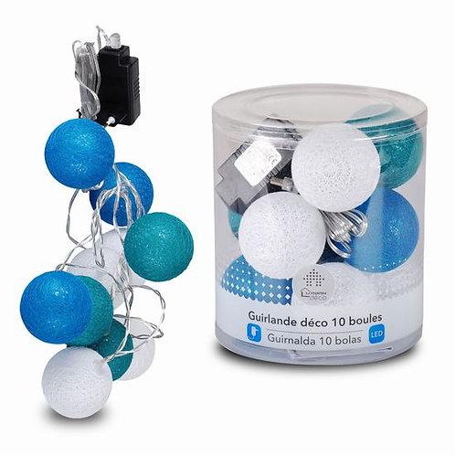 Guirnalda Azul 10 Bolas