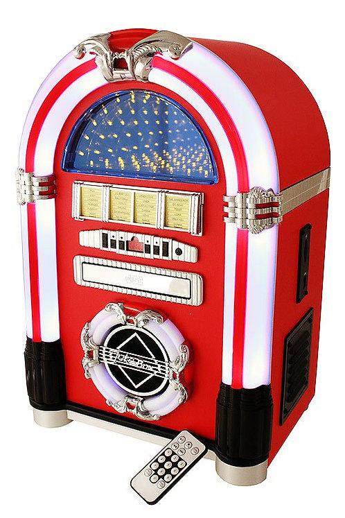 Jukebox Vinilo Rojo 45 cm.