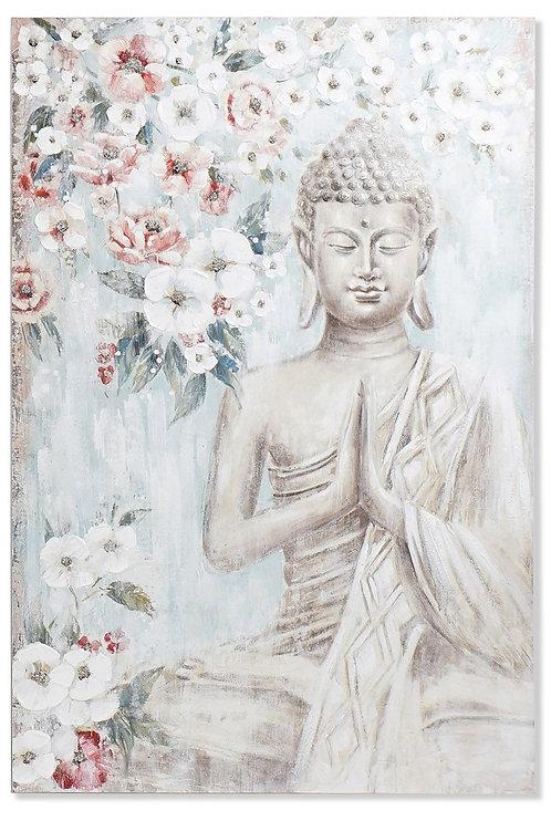 Cuadrolienzo con imagen de Buda