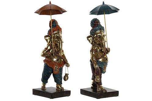 Set 2 Figura Ganesha 41 cm