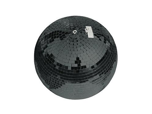 Bola Espejos Negro 30 cm