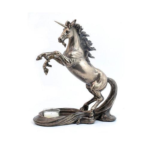 Candelabro con forma de Unicornio