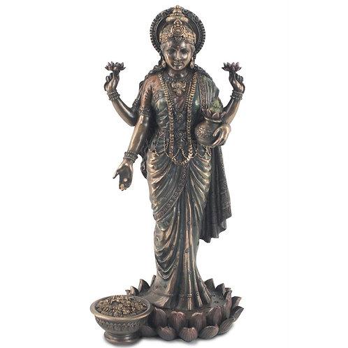 Figura de Lakshmi -Diosa de la riqueza y la prosperidad