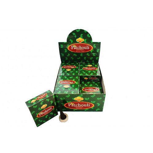 """Conos """"Patchouli""""elaborados con ingredientes naturales de calidad premium"""