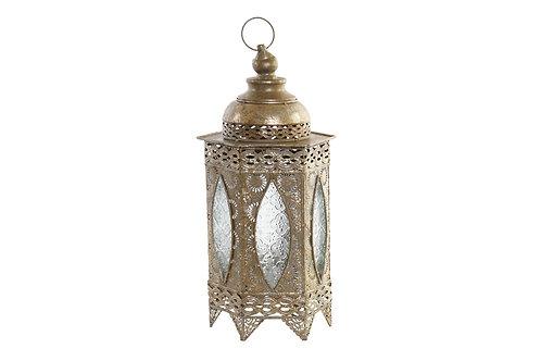 Lámpara de estilo árabe de sobremesa, color dorado.