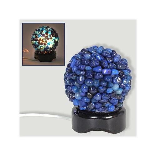 Lámpara Ágata azul