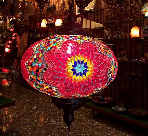 Lámpara turca de colgar 35 cm.