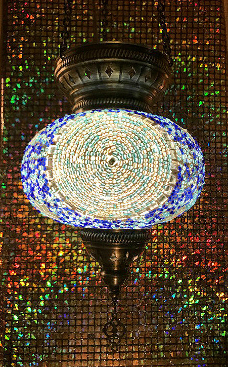 Lámpara turca de colgar 19 cm.