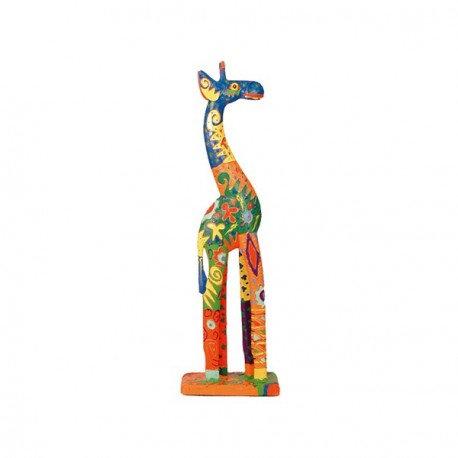 Jirafa multicolor 60 cm.