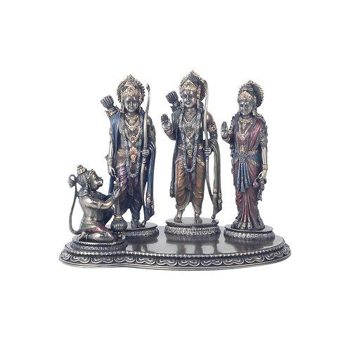 Figura Familia Hindú 19 cm