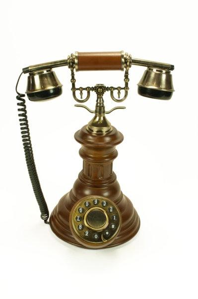 Telefono Antiguo 34 cm