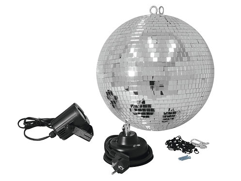 Set Bola Espejos LED 30 cm