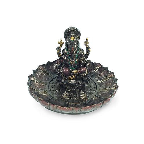 Figura Porta-inciensos Ganesha 8.5 cm