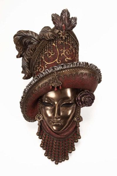 Máscara Veneciana 32 cm