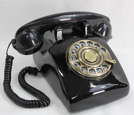 Telefono Antiguo Negro