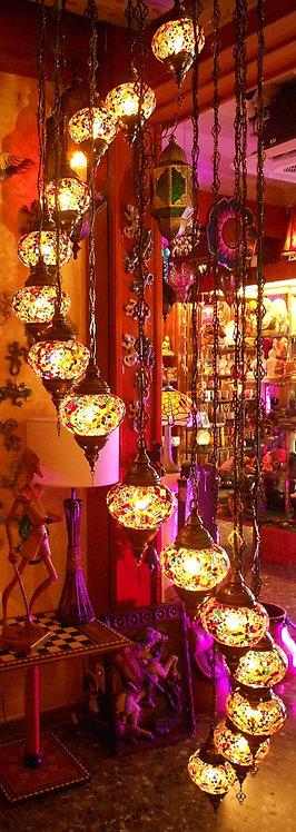 Lámpara turca de colgar