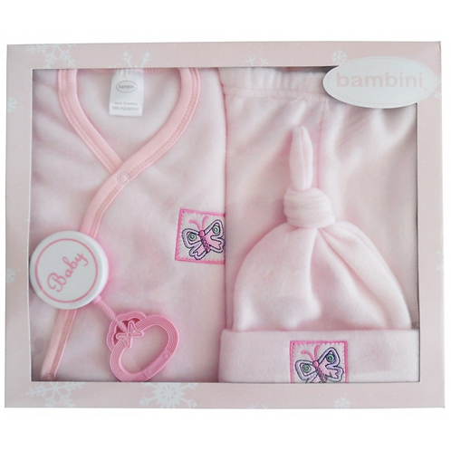 4-Piece Pastel Fleece Gift Set