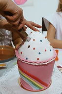 Oslav narozenin cupcake