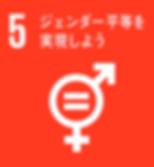 SDGs_ジェンダー平等を実現しよう