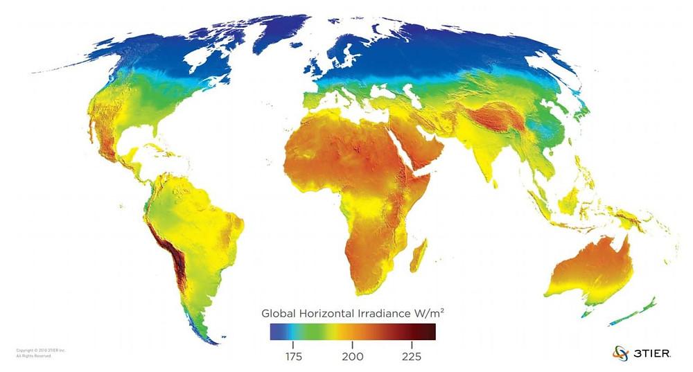 México es un país privilegiado y posee uno de los mejores niveles de irradiacia del mundo.