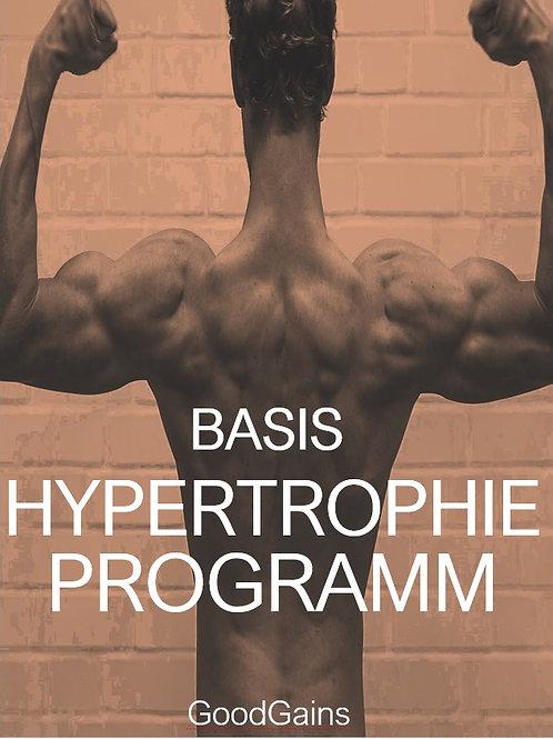 BASIS HYPERTROPHIE-PROGRAMM