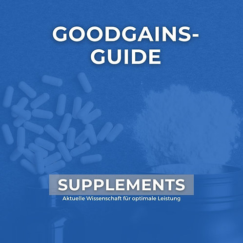 GOODGAINS-GUIDE SUPPLEMENTS