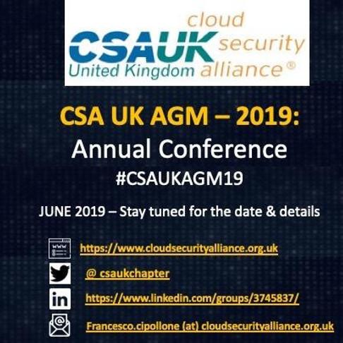 Annual CSA agm