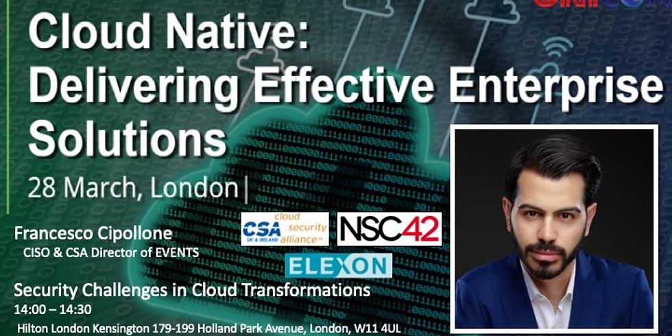 Cloud native: delivering effective enterprise solutions