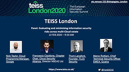 2020 - TEISS London