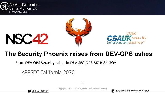 2020 - Appsec Cali