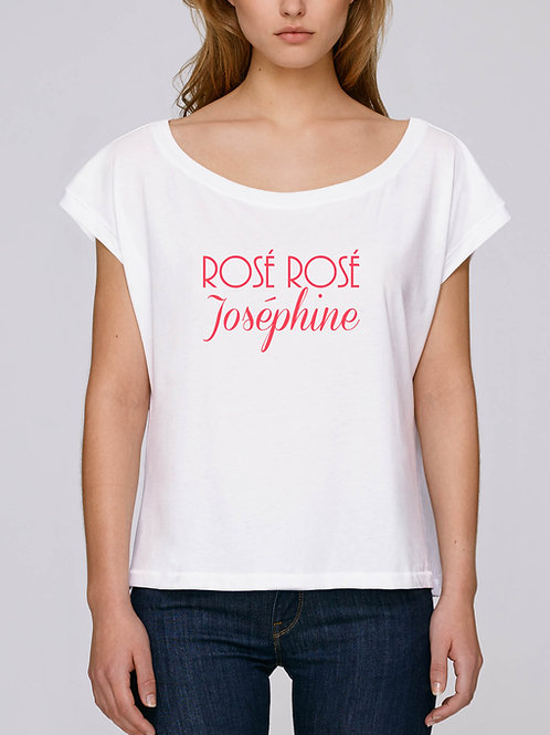 Tee-shirt Rosé Rosé Joséphine