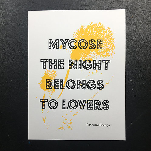Affiche Mycose The Night