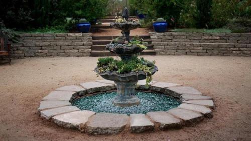 Urbanite Fountain- Arlington Gardens, Pasadena
