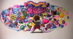Girl mural