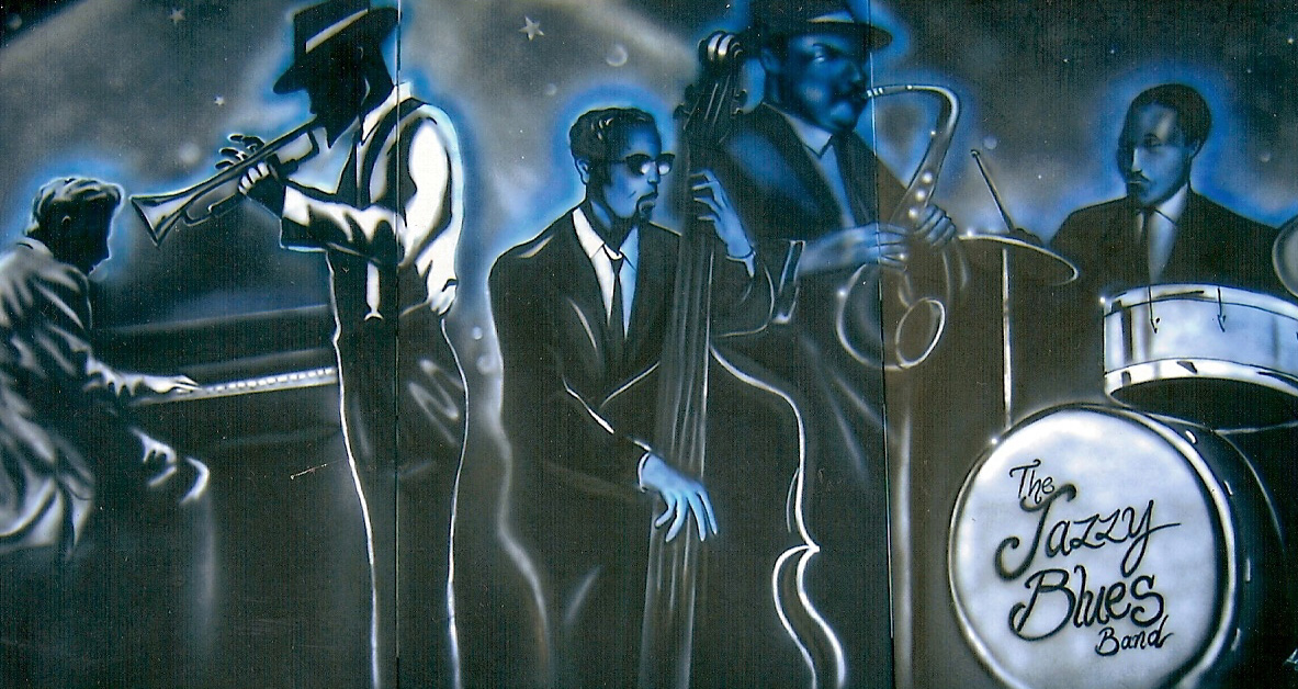 The Jazzy Band - Bar Mural